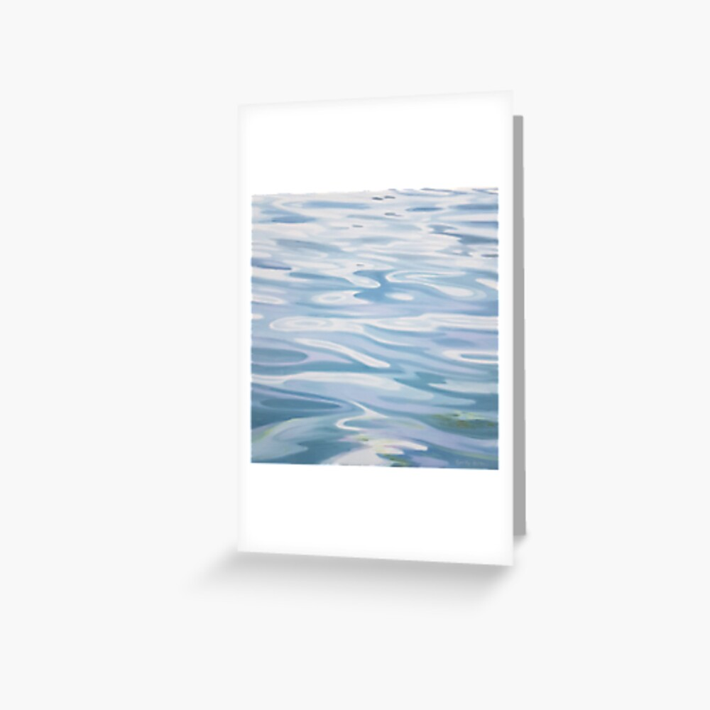 Contemplation - water painting Greeting Card