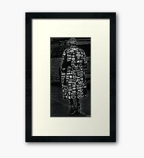 Well traveled gentleman Framed Print