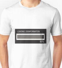 RAM Design: Loading Disinformation #58 Unisex T-Shirt