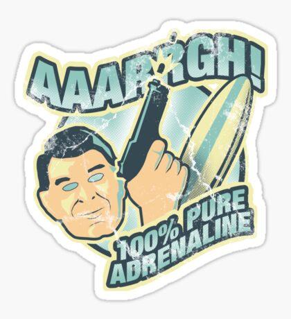 100% Pure Adrenaline Sticker