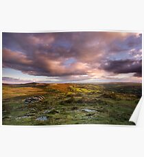 Chinkwell Tor Sunset Poster