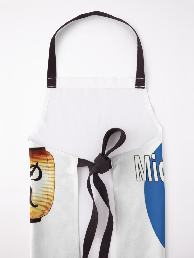 Alternate view of Midnight Diner Apron