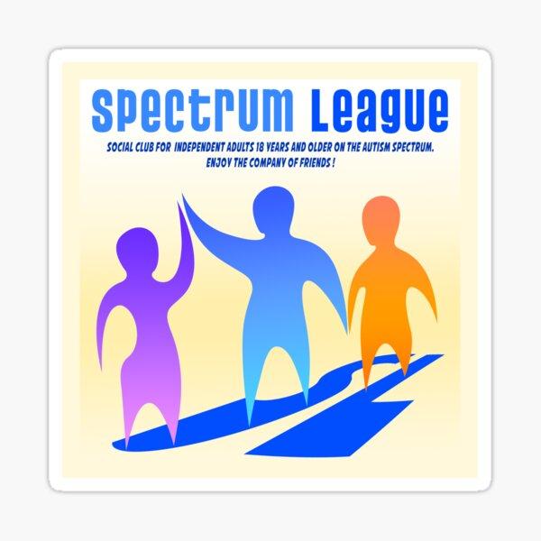 Spectrum League Logo Sticker