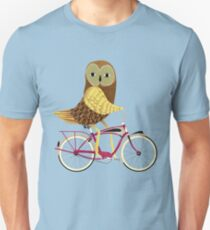 Owl Bicycle T-Shirt