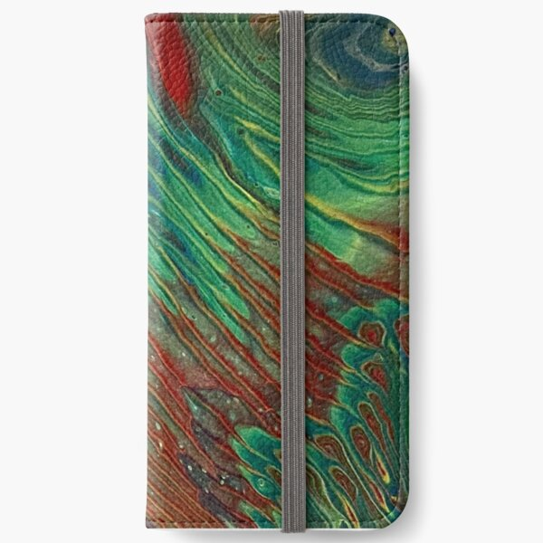 Rainbow Rays iPhone Wallet