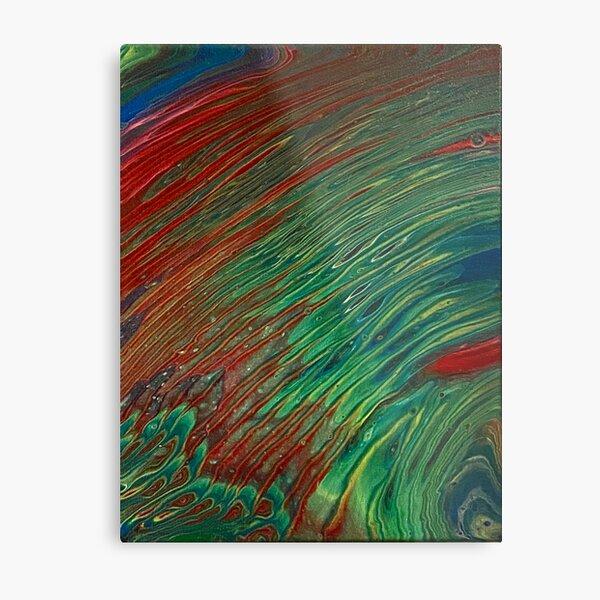 Rainbow Rays Metal Print
