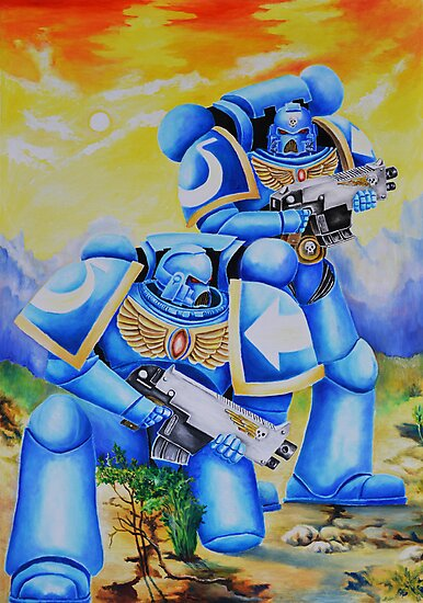 Ultramarines by Tomkam