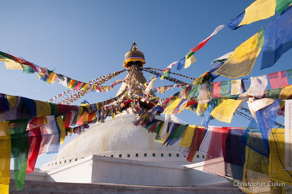 Bodnath / Boudhanath Stupa by Christopher Cullen