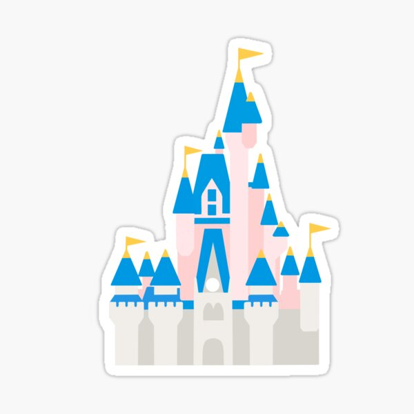 Magical Castle  Sticker