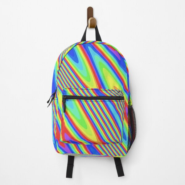 "2000's ""paint"" Backpack"