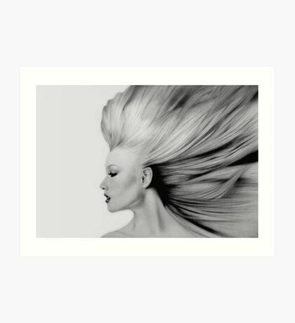 Fantasia 3, natural. Art Print