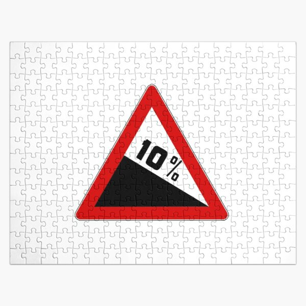 10% Sign Jigsaw Puzzle
