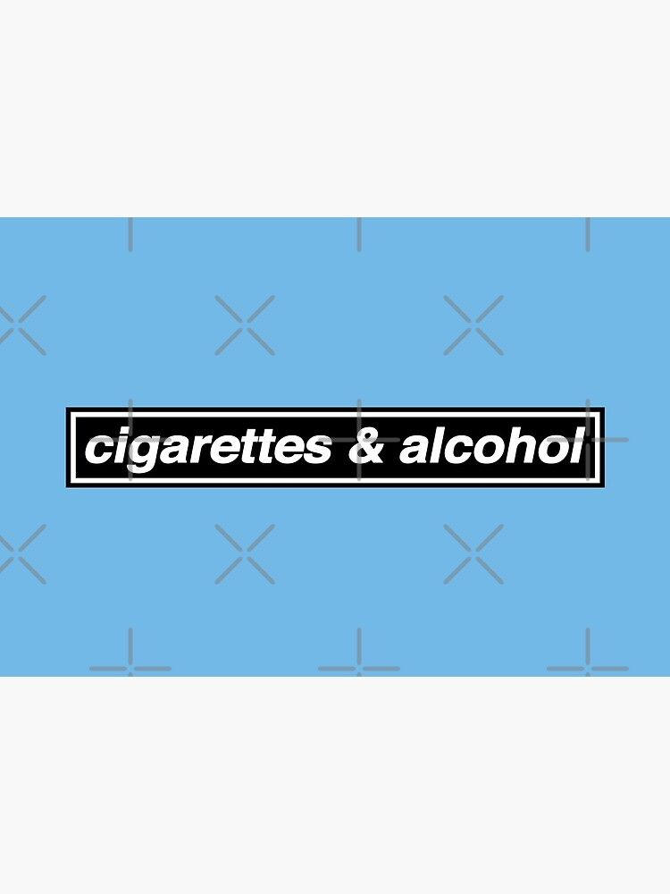 Cigarettes & Alcohol - OASIS Band Tribute - MADE IN THE 90s by phigment-art