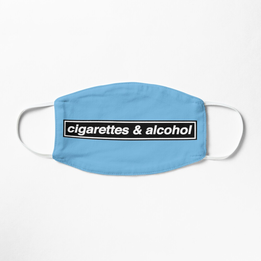 Cigarettes & Alcohol - OASIS Band Tribute - MADE IN THE 90s Mask