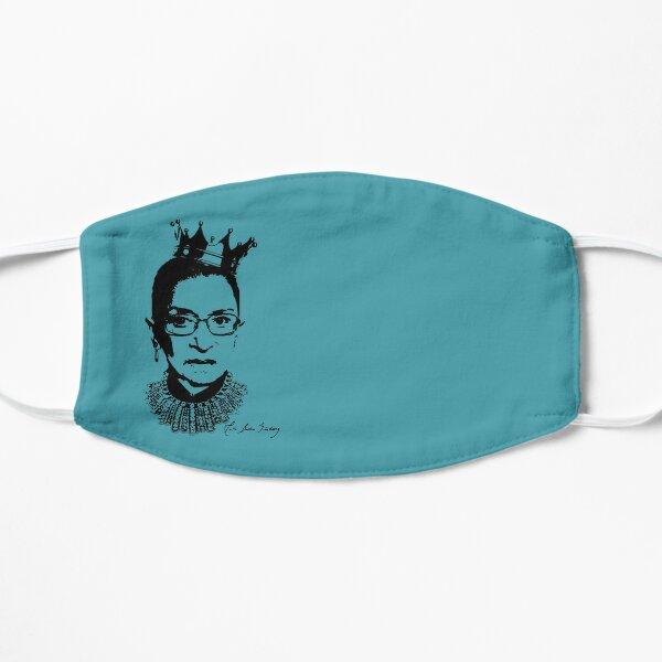 Ruth Bader Ginsburg Autograph  Flat Mask