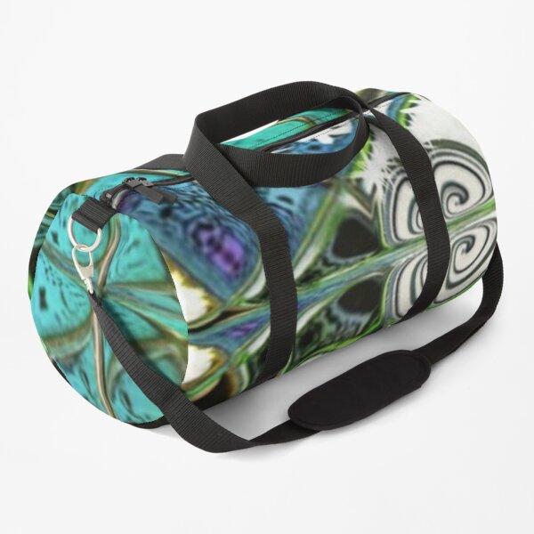 Flower Box Duffle Bag