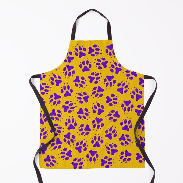 Tiger Paws (purple) Apron