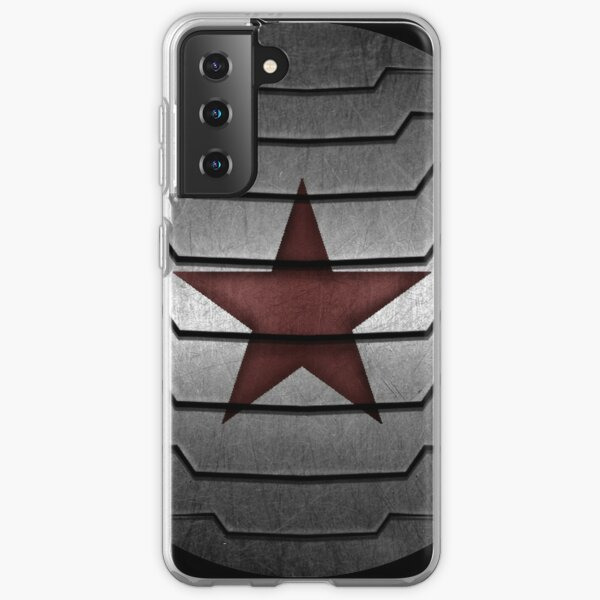 Winter Soldier Star Samsung Galaxy Soft Case