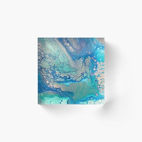 Glaciers Acrylic Block