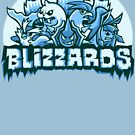 Team Ice Types - Blizzards by Kari Fry