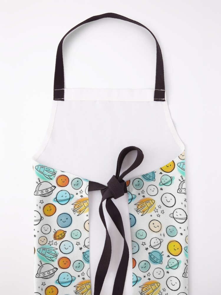 Alternate view of Planetary Party Apron