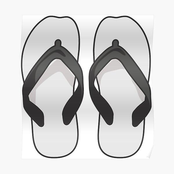 Flip Flops - Aussie Thongs Poster