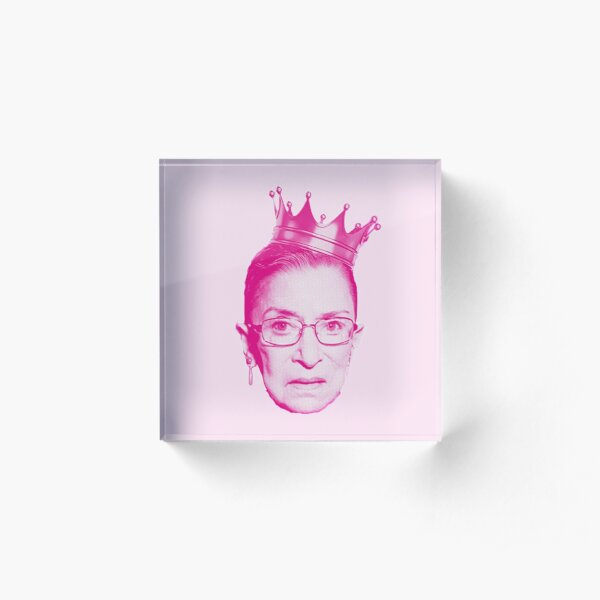 RBG pink  Acrylic Block