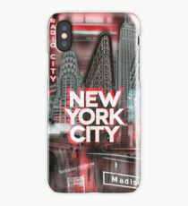 New York City [red] iPhone Case