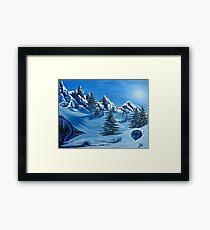 North Face Framed Print