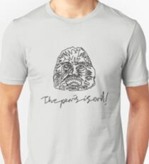 """The Penis Is Evil"" Unisex T-Shirt"