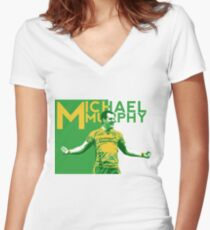 Michael Murphy - Donegal GAA Women's Fitted V-Neck T-Shirt