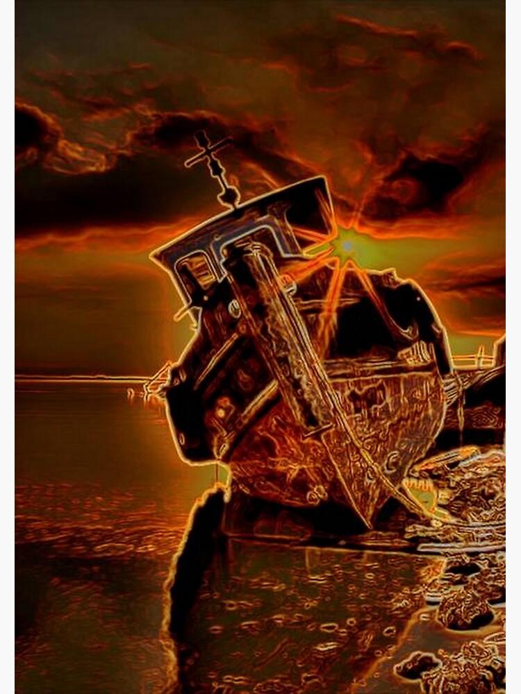 SHIP WRECK by michaeltodd