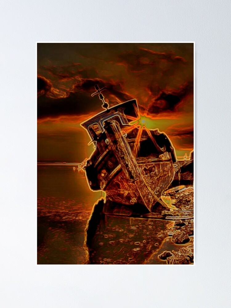 Alternate view of SHIP WRECK Poster
