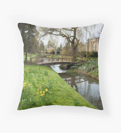 Heaver Castle in Spring Throw Pillow