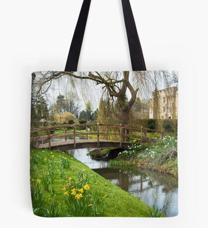 Heaver Castle in Springtime Tote Bag