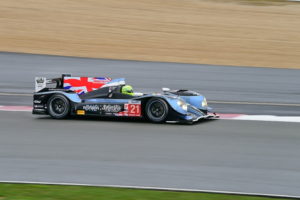 Strakka Racing No 21 by Willie Jackson