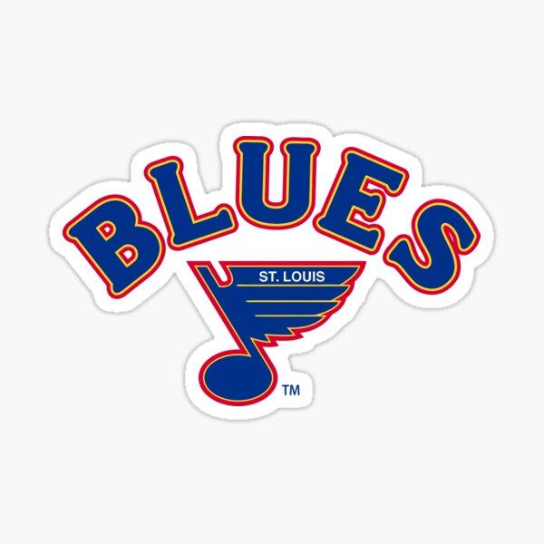 Blues-st. louis Sticker