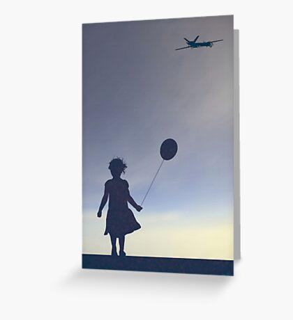 American Twilight Greeting Card