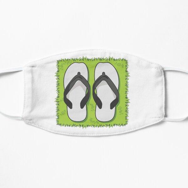 Flip Flops. Pull up a spot on the Grass! Mask