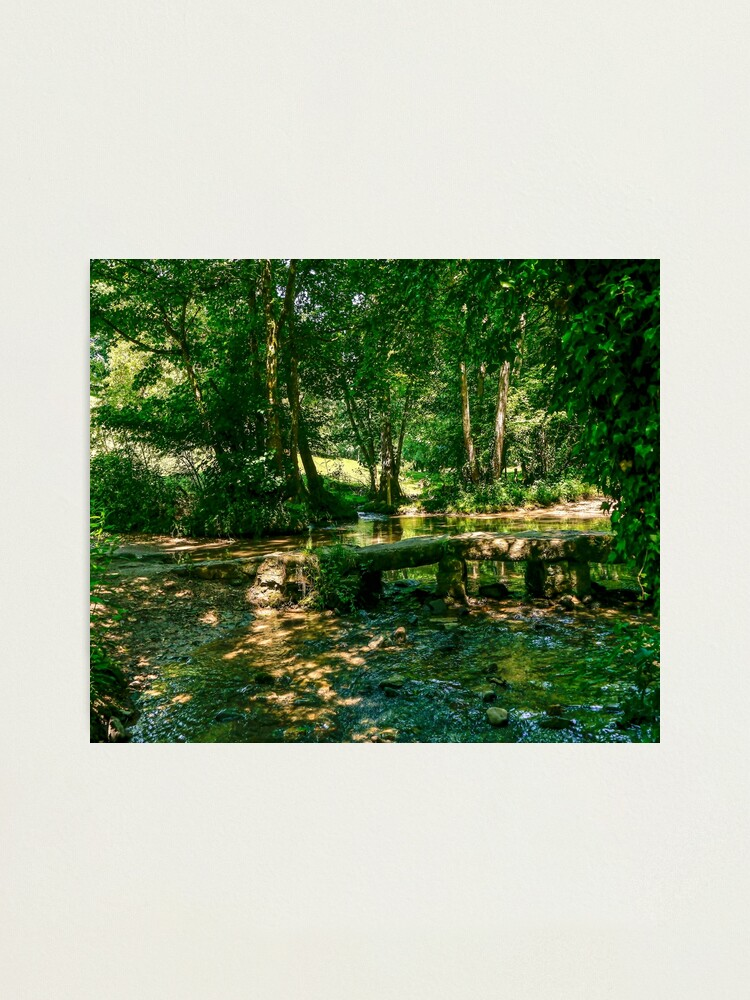 Alternate view of Ford & Packhorse Bridge Photographic Print
