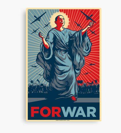 Obama FORWAR Canvas Print