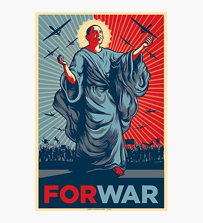 Obama FORWAR Photographic Print