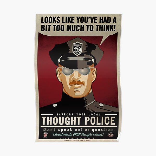 Policía del pensamiento Póster