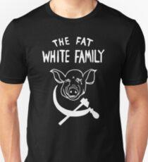 Fat White Family - White on black T-Shirt