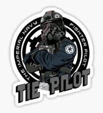TIE Pilot Crest Sticker