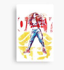Obey Jessica Canvas Print