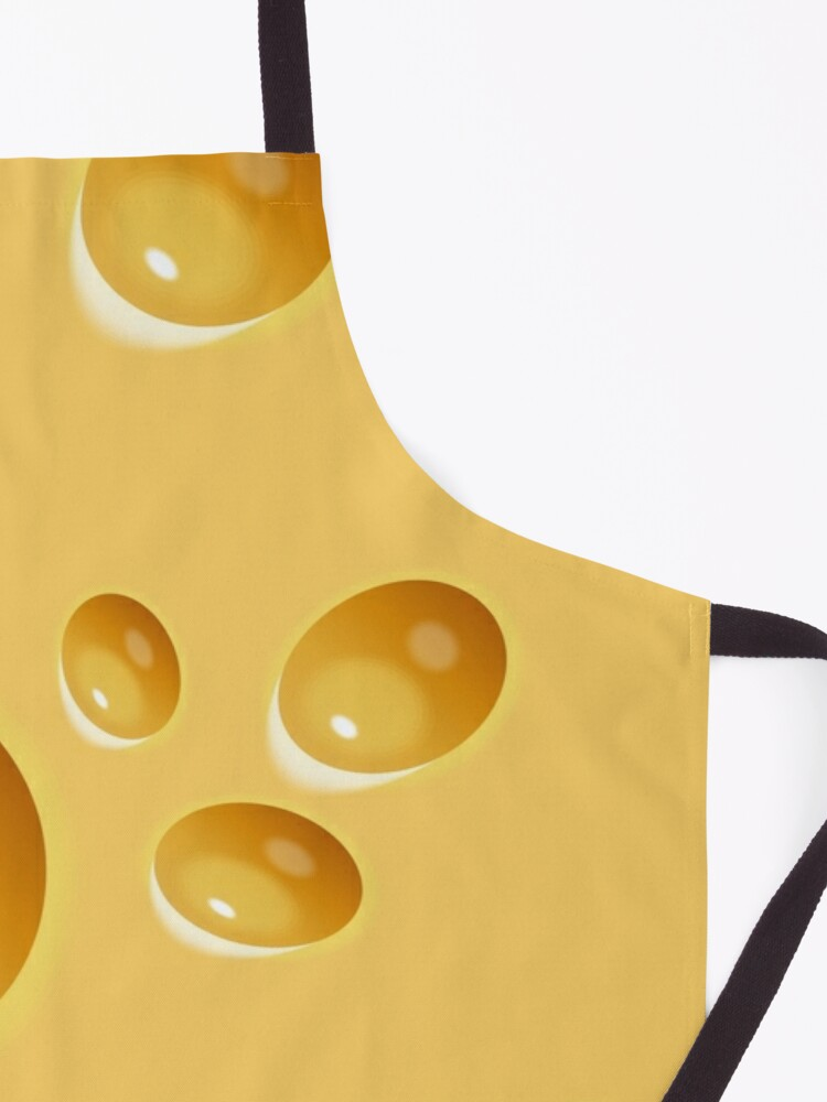 Alternate view of Swiss Cheese Apron