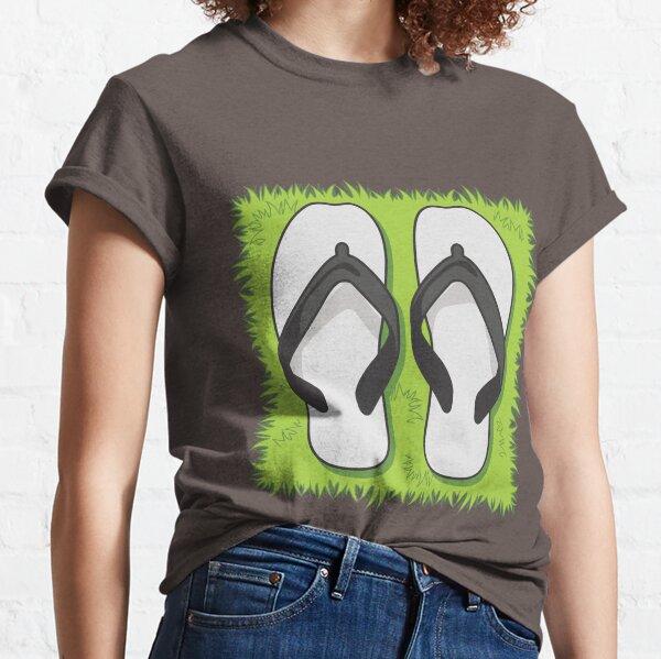 Flip Flops. Pull up a spot on the Grass! Classic T-Shirt