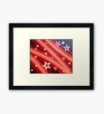 Stripes and Stars 1 Series 1 Framed Print