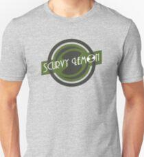 Scurvy Lemon Olive Drab Unisex T-Shirt
